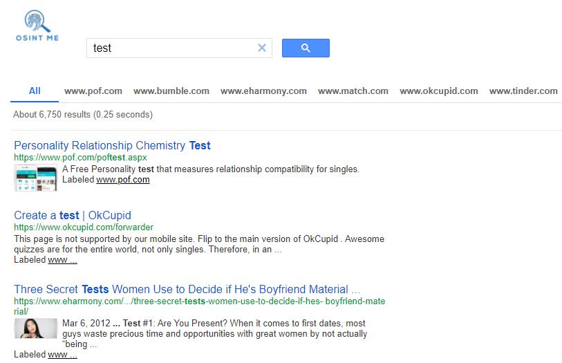 Using the Google custom search engine for OSINT