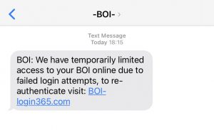 Another new phishing campaign against Bank of Ireland customers | by Maciej Makowski